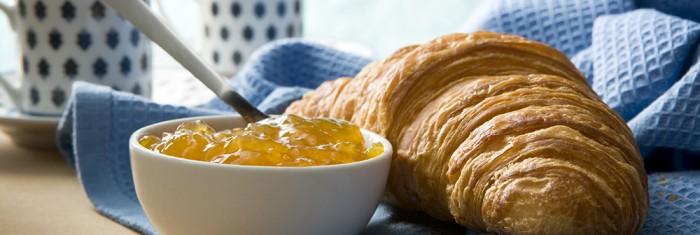 Croissant and jam-[iStock_000010513082XLarge]