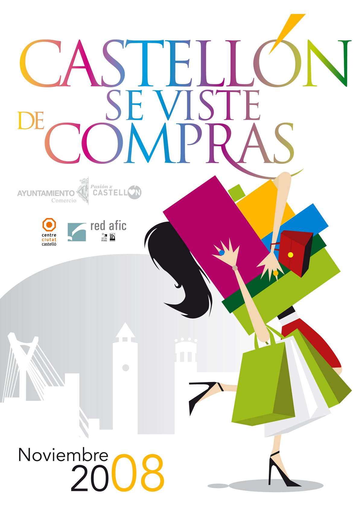 """Campaña """"Castellón se viste de compras"""""""